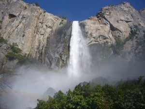 Bridalveil Fall at Yosemite
