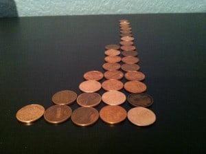 Go pennies go!