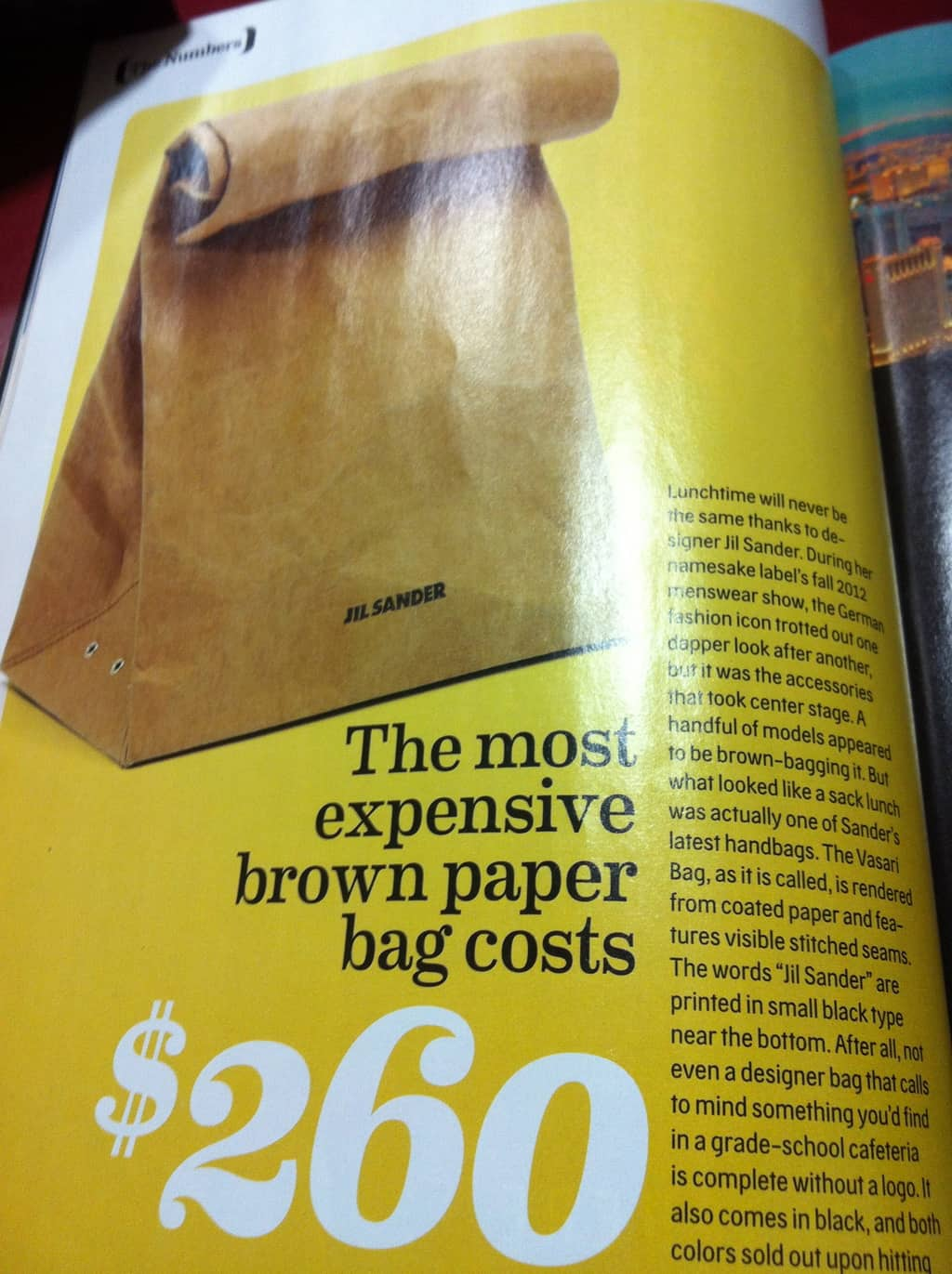 Thursday Rant: The $260 Lunch Bag; Has Society gone Mad?!?