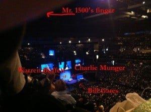 Buffet, Munger, Gates and my finger