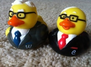 Warren and Buffett looking ducky