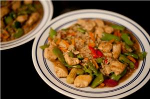 Shortcut Asian Chicken Teriyaki and Rice