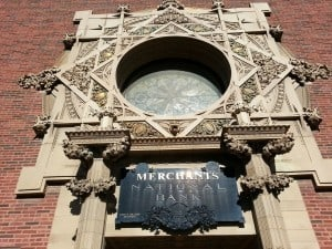 Louis Sullivan's* Jewel Box Bank in Grinnell Iowa