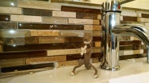 Backsplash in master bath