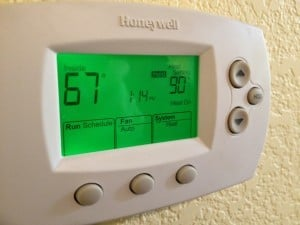 Guess who touched the temperature setting. Hint: Not Mr. 1500.