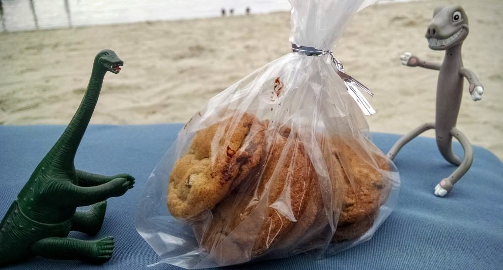 Chocolate chip cookies in paradise. Does life get better? Thanks again Michael!