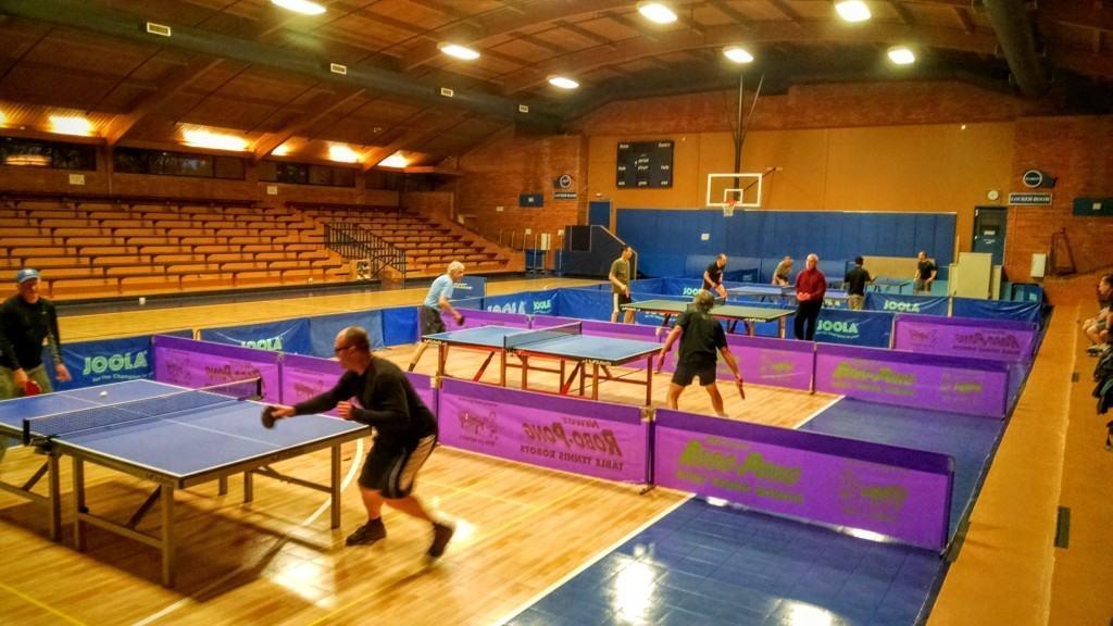the table tennis club