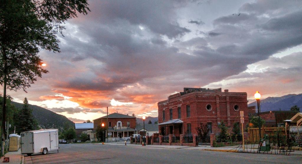 Sunrise in Salida, Colorado