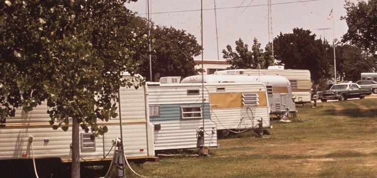 The beginning of our mobile home park investing... though of course this is an old photo!